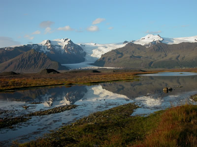 Icelandic Glaciers - Click here to learn about Lisa\'s expedition
